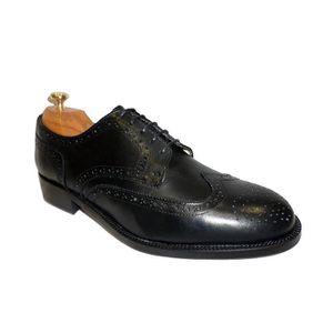 DERBY STRADFORD Chaussures en cuir de veau homme Noir De