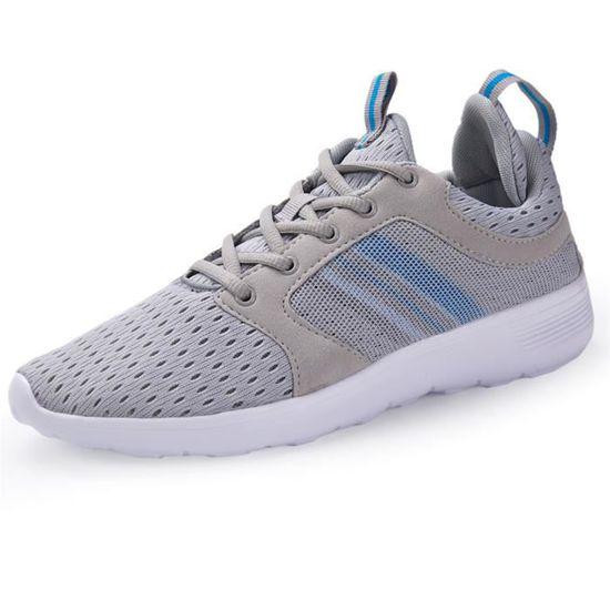 Baskets hommes Antidérapant perméable à l'air Chaussures en coton de course homme Confortable Automne et hiver dssx500gris40 Gris Gris - Achat / Vente basket