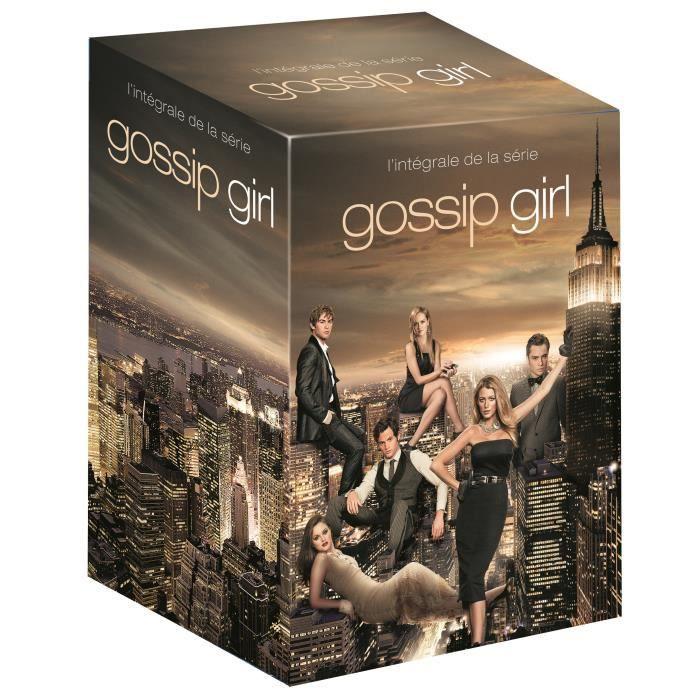 DVD SÉRIE DVD Coffret Gossip Girl - L'intégrale de la série
