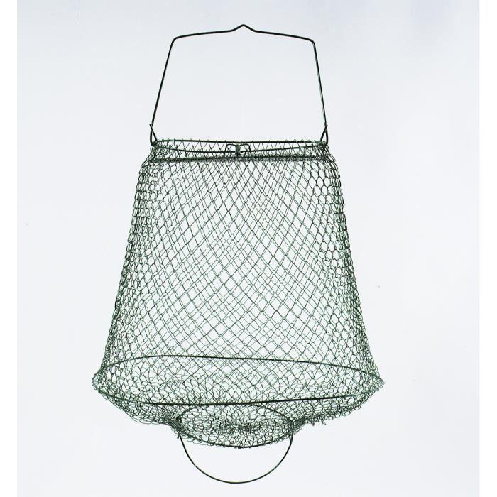 LINEAEFFE Bourriche métallique sans cou 35x27 cm