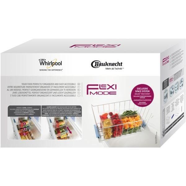 WPRO FLM400 Flexi mode : panier de rangement pour congélateur horizontal 390 L