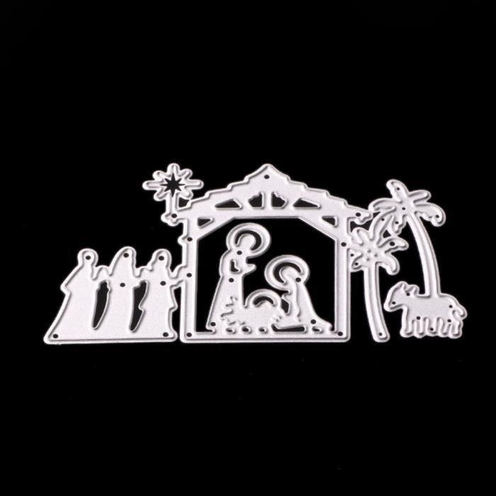 POCHOIR CRÉATIF Napoulen®Métal Coupe Dies Stencil bricolage Scrapb