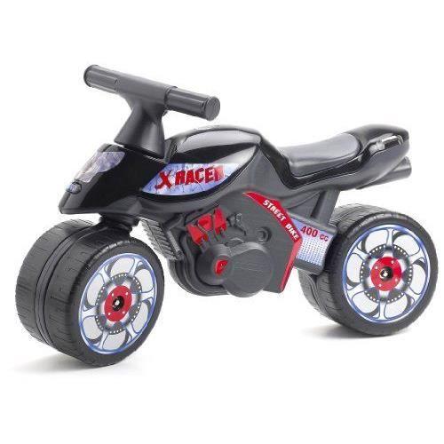 falk porteur enfant moto x racer noire achat vente. Black Bedroom Furniture Sets. Home Design Ideas