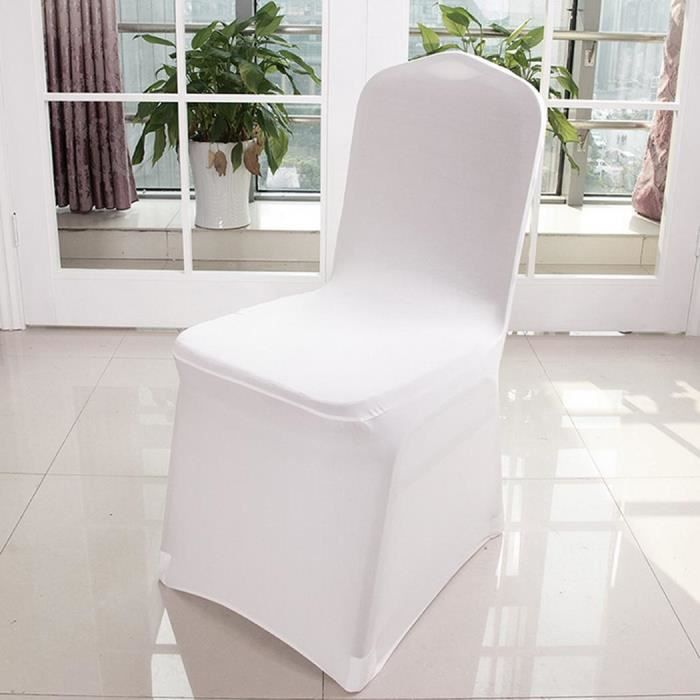 Housse Chaise Blanc Mariage