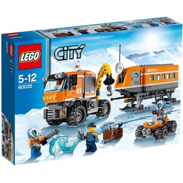Lego city 60035 la base arctique mobile achat vente assemblage construction cdiscount - Image lego city ...