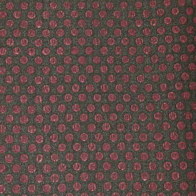 Papier Peint Mural De Style Classique Avec Motif Damasse Rouge