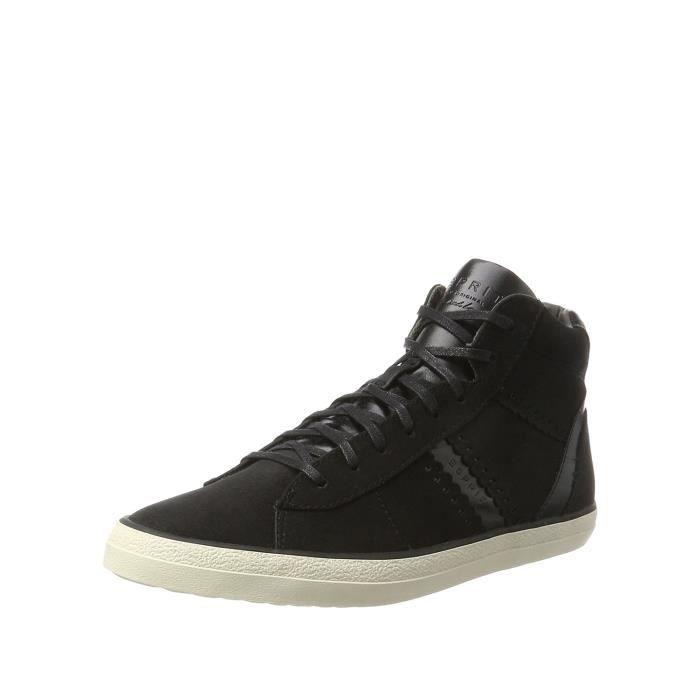 Esprit 077ek1w006, Baskets pour Femme - Noir - Noir,
