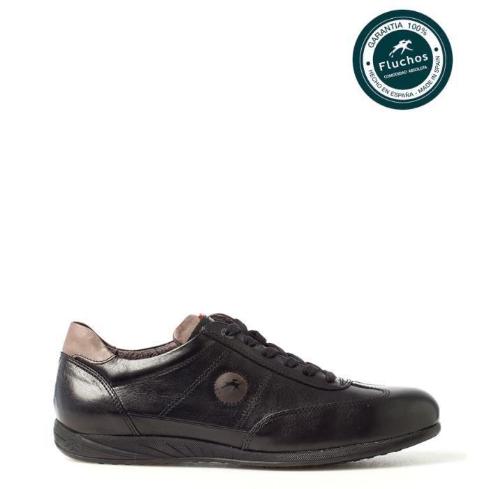 Fluchos - Derbies en cuir noir Ulises bWQgIsgoL