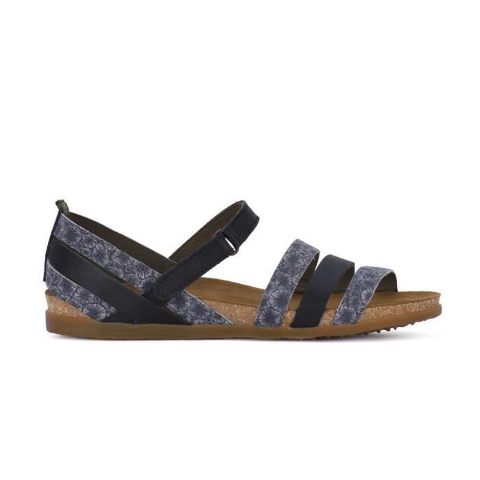 164f80a6415d6 Chaussures El Naturalista NF42BLK Bleu Bleu - Achat   Vente mule ...