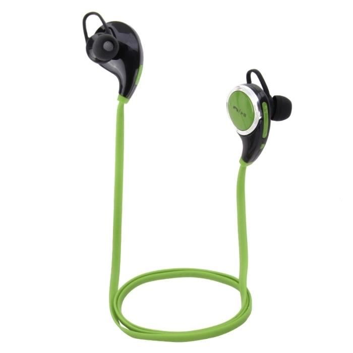 Ecouteurs Samsung Galaxy S6 Vert Wireless Bluetooth 40 Stereo Sport Earphone With Mic And Volume
