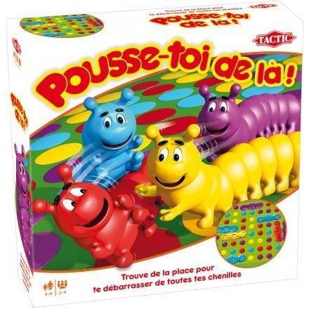 TACTIC - 40403 - JEU DE SOCIÉTÉ - POUSSE-TOI DE LÀ - Achat / Vente jeu société - plateau - Cdiscount