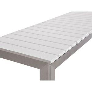 Table de jardin en aluminium - Achat / Vente Table de jardin en ...