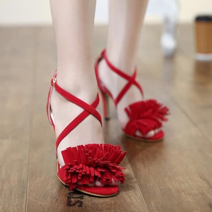 Sandales Mode C Femmes Chaussures de Talon Haut rnwBqZ7r