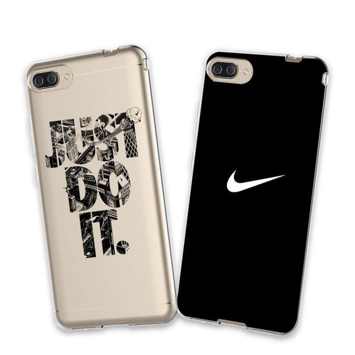 premium selection de6ba 4cdef COQUE - BUMPER 2 X Coque Zenfone 4 Max ZC520KL, Nike Doux Souple