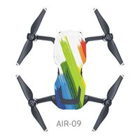 DRONE Protection Shell corps Drone étanche PVC autocolla