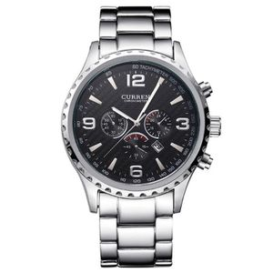 MONTRE CURREN Montre Homme Luxe Marque Casual Date Orolog