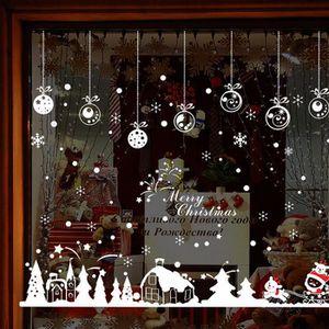 VILLAGE - MANÈGE 60 * 90cm Maison de Noël meubles amovibles vinyle
