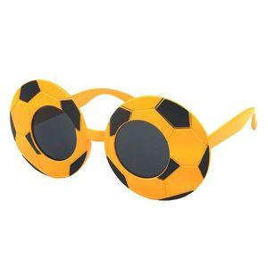 2ebcc4c964c5a ACCESSOIRE DÉGUISEMENT Lunettes humoristique ballon de foot noir jaune (A