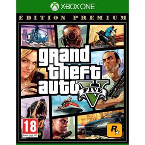 JEU XBOX ONE GTA V : EDITION PREMIUM Jeu Xbox One