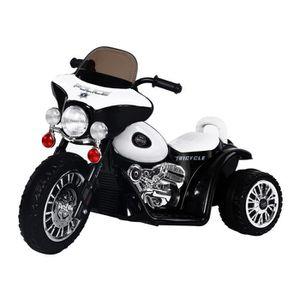 MOTO - SCOOTER Moto électrique pour enfants chopper police 6 V en