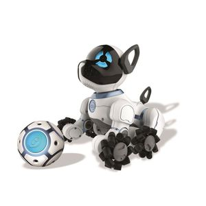 ROBOT - ANIMAL ANIMÉ WOWWEE Chien Robot Télécommandé Chip Noir et Blanc