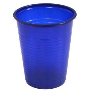 verre plastique jetable bleu achat vente verre plastique jetable bleu pas cher cdiscount. Black Bedroom Furniture Sets. Home Design Ideas