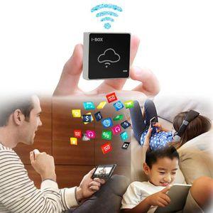 DISQUE DUR EXTERNE I-BOX Sans Fil WiFi Mobile Disque Dur Serveur USB