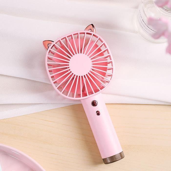 VENTILATEUR Portable Mini USB rechargeable Ventilateur Portabl