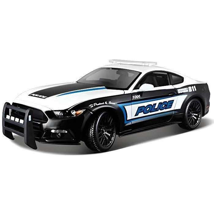 maisto voiture de collection 1 18 ford mustang gt police achat vente voiture camion. Black Bedroom Furniture Sets. Home Design Ideas