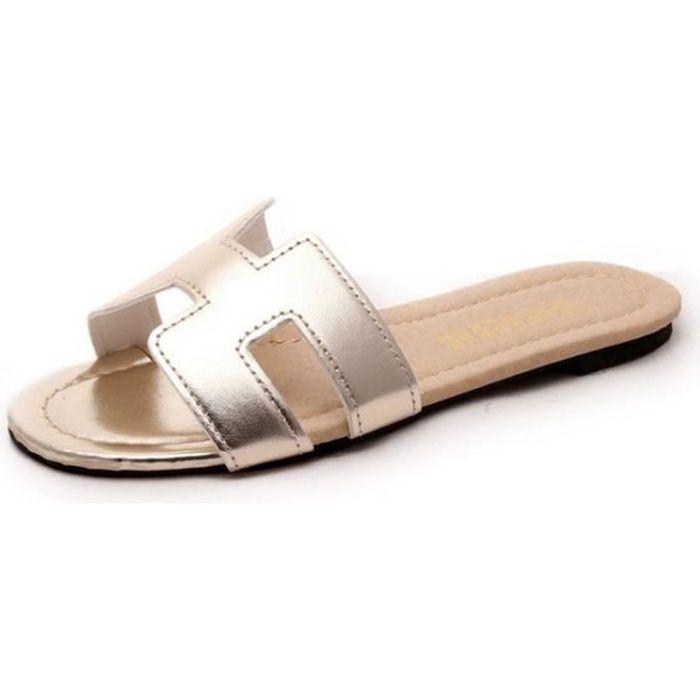 Jaune Marque Sandale Meilleure Qualité Ete Luxe Zx De Confortable X003 39 Femme Mode Nouvelle YD2eEIWH9