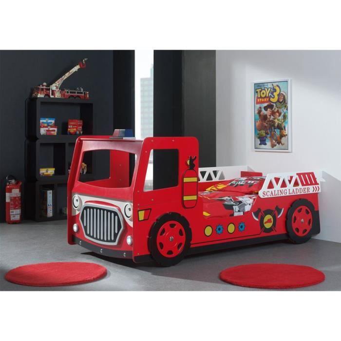 lit enfant camion