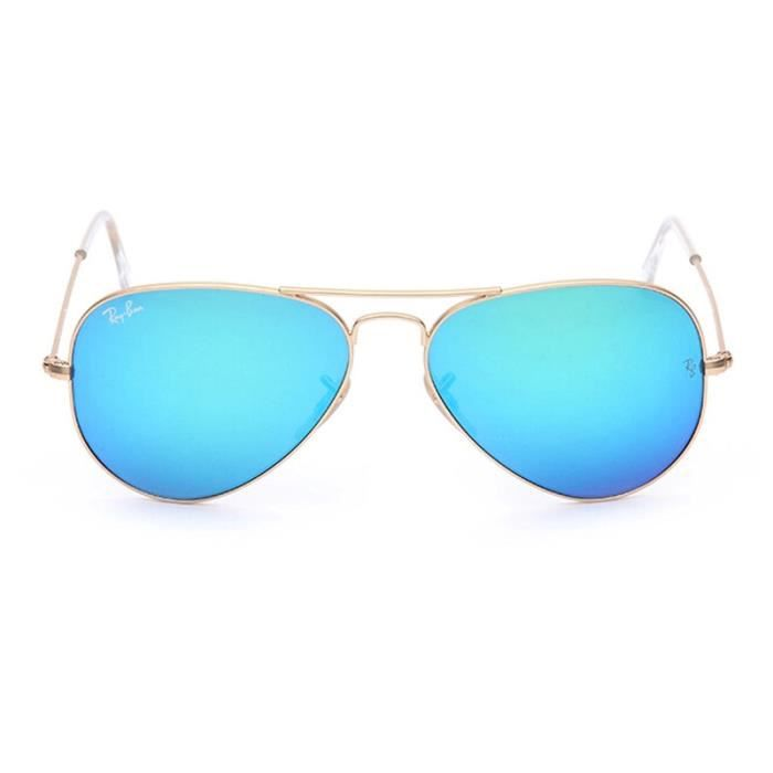 7244153784a008 58mm Classic Ray Ban Aviator Lunette de soleil RB3025 112 17 - Achat ...