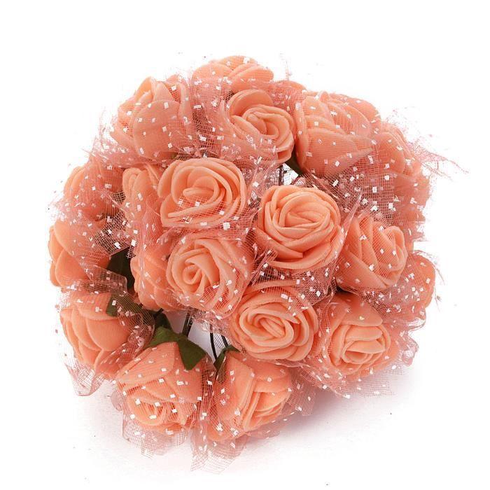 Tempsa Bouquet Fleur Artificielle Mousse Deco Mariage Maison 144pcs