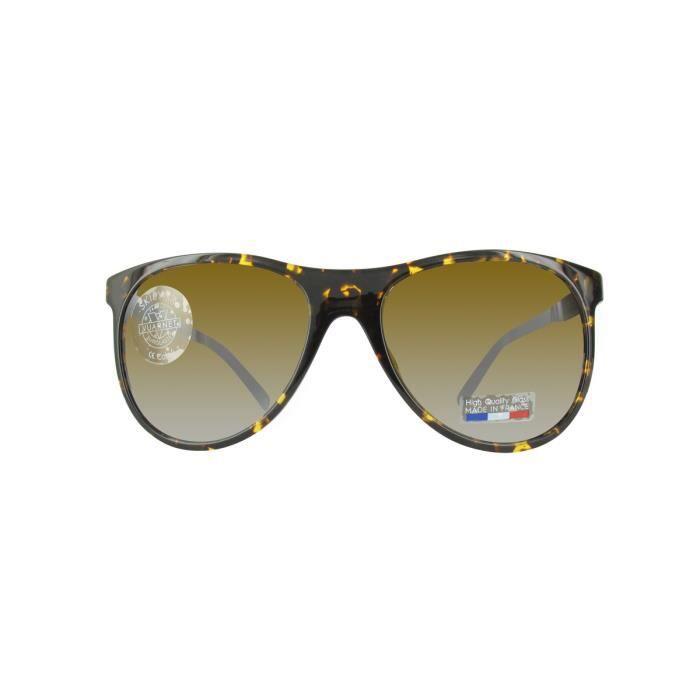 Lunettes de soleil homme VUARNET VL1520 HAVANA BROWN - Achat   Vente  lunettes de soleil Mixte Adulte - Cdiscount 315e5f603378