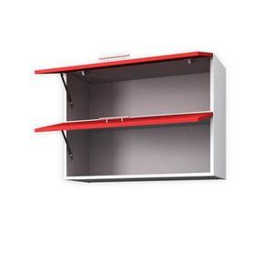 meuble haut cuisine rouge mat achat vente pas cher. Black Bedroom Furniture Sets. Home Design Ideas