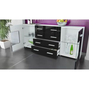 bahut rouge achat vente pas cher. Black Bedroom Furniture Sets. Home Design Ideas