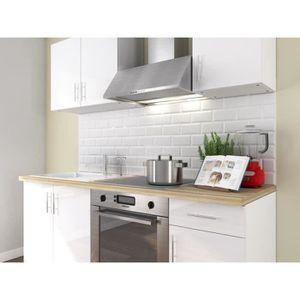 meuble suspendu blanc laque achat vente pas cher. Black Bedroom Furniture Sets. Home Design Ideas