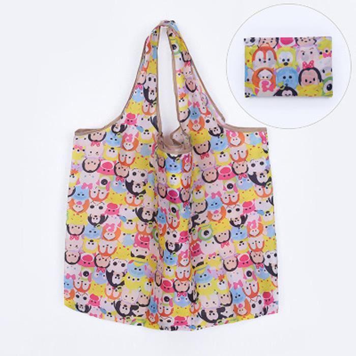 À Pliant Femmes Sac Eco Bandoulière Shopping 2900 Multicolore Sacs Voyage D'épicerie Fourre tout Beguin® tFwaqRR