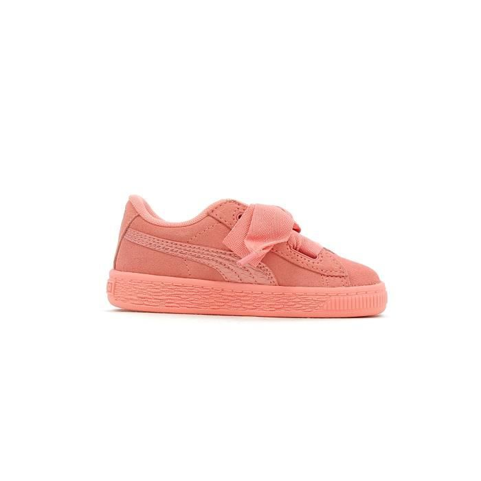 Baskets basses Puma Inf Suede Heart SNK Baby