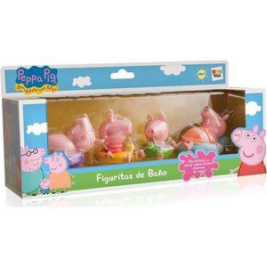 PEPPA PIG Jouet de Bain Pack 4 Figurines