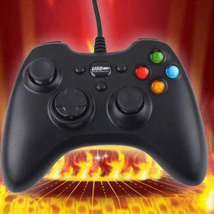 MANETTE JEUX VIDÉO Filaire USB Controller Gamepad Joystick Joypad pou