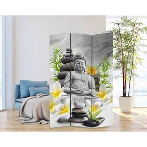 PARAVENT Paravent Zen - 120x180x2,5 cm - Dessins différents