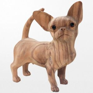 statuette chihuahua achat vente statuette chihuahua pas cher cdiscount. Black Bedroom Furniture Sets. Home Design Ideas