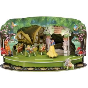 FIGURINE - PERSONNAGE BULLYLAND - BLANCHE NEIGE ET LES SEPT NAINS PLA…