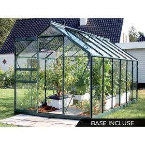 Serre de jardin verre trempe achat vente serre de - Serre de jardin en verre pas cher ...