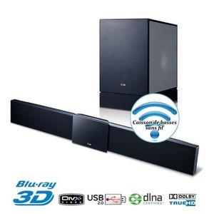 Ensemble home cinéma LG BB4330A Barre de son 3.1 330W Blu-Ray 3D