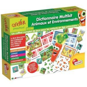 JEU D'APPRENTISSAGE LUCIANI Dictionnaire Multikit Carotte magique - Le