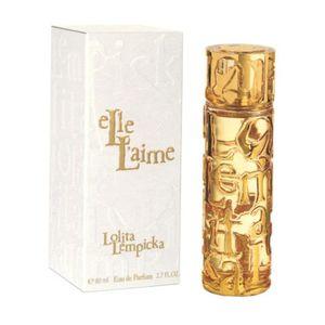 PARFUM  ELLE L'AIME DE Lolita Lempicka Eau De Parfum 80 ml