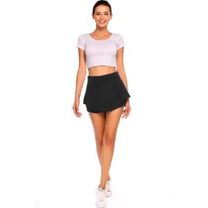 ebcdabd5b4c37a Femmes Mini Jupe de tennis Solid Casual Running Gym Avec taille ...