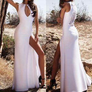 d1361711fa2d34 Robe blanche sexy - Achat / Vente pas cher